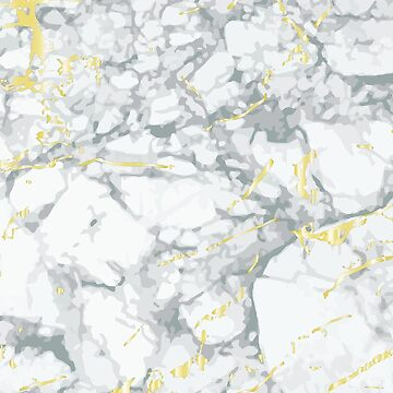 Beautifully luxurious looking grey and gold marble effect by andreirose