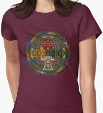 Mandala of Yamantaka Women's Fitted T-Shirt