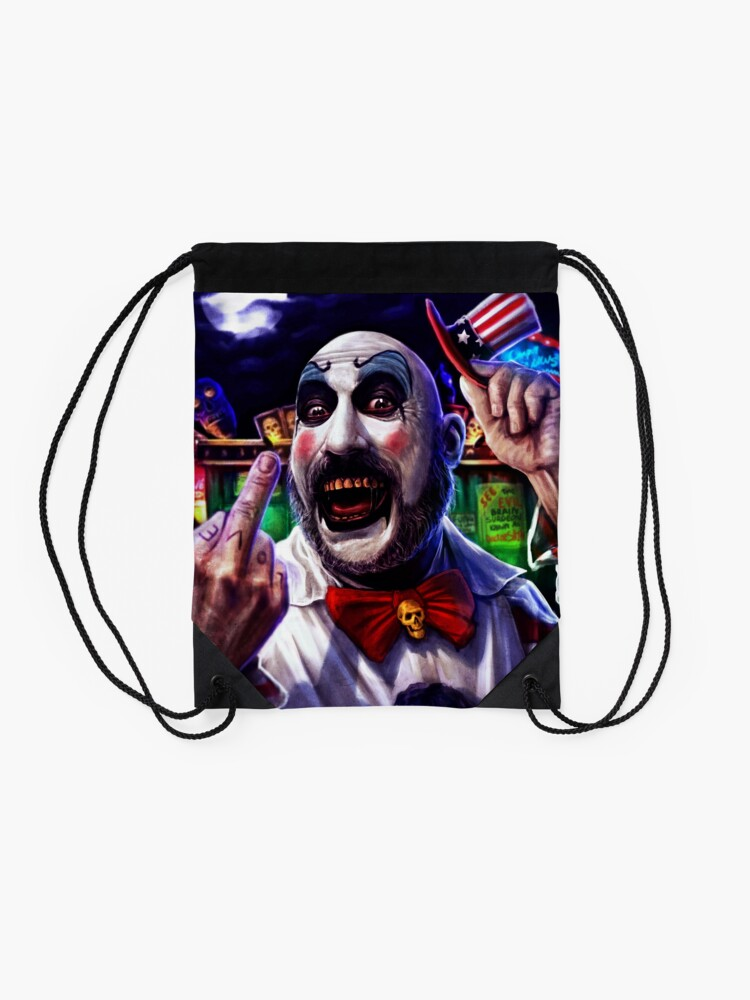 Alternate view of Most of all, f*** you! Drawstring Bag