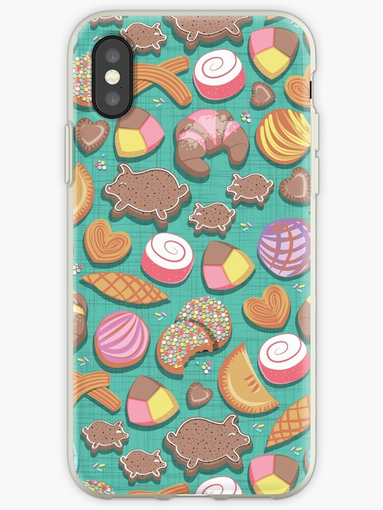 Superb Mexican Sweet Bakery Frenzy Teal Background Pastel Colors Pan Dulce Iphone Case By Selmacardoso Ncnpc Chair Design For Home Ncnpcorg