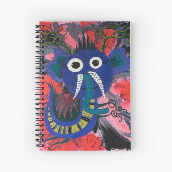 Elephant Dragon : Funny Animal Series Spiral Notebook