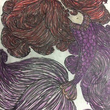 Mysterious Mermaid  by PETAbstractA