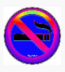 No Smoking ㊾  emoji Photographic Print