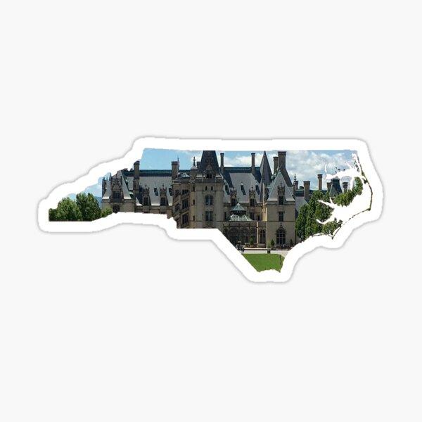 North Carolina: Biltmore Estate Sticker