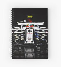 A shooting star called Charles Leclerc Spiral Notebook