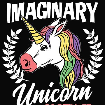 This Is My Imaginary Unicorn Costum Gift by dtino