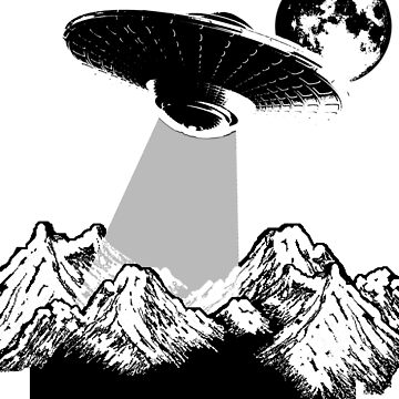 Alien Abduction Shirt - UFO I Want To Believe Gift Tee by theodoros20