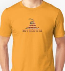 Don't Tread On Me Slim Fit T-Shirt