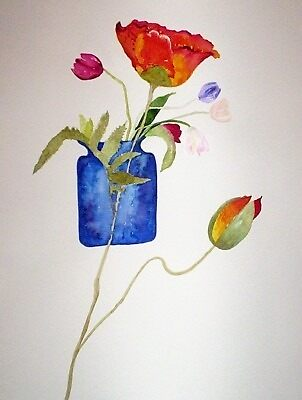 THE BLUE VASE by ANNETTE HAGGER