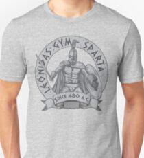 leonidas spartans gym Unisex T-Shirt