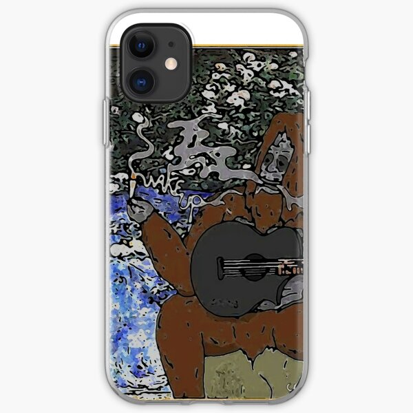 Wake up you massive druggo iPhone Soft Case