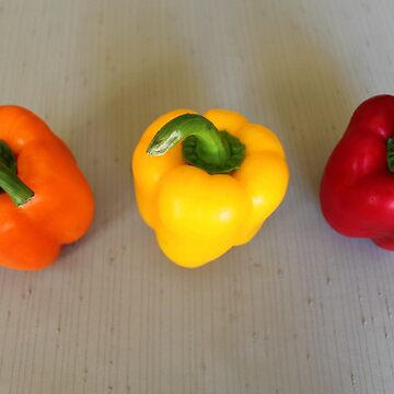 Colorful peppers by evonealawi