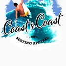 Surfing Coast to Coast Cutback by GraphicAlchemy