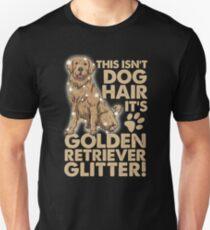 Golden Retriever Dog Glitter Unisex T-Shirt
