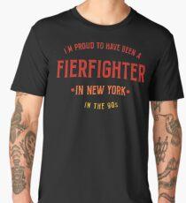 Proud Firefighter New York Tshirt Men's Premium T-Shirt