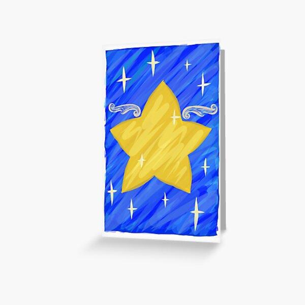 Star Light, Star Bright by Janessa Culliford Greeting Card