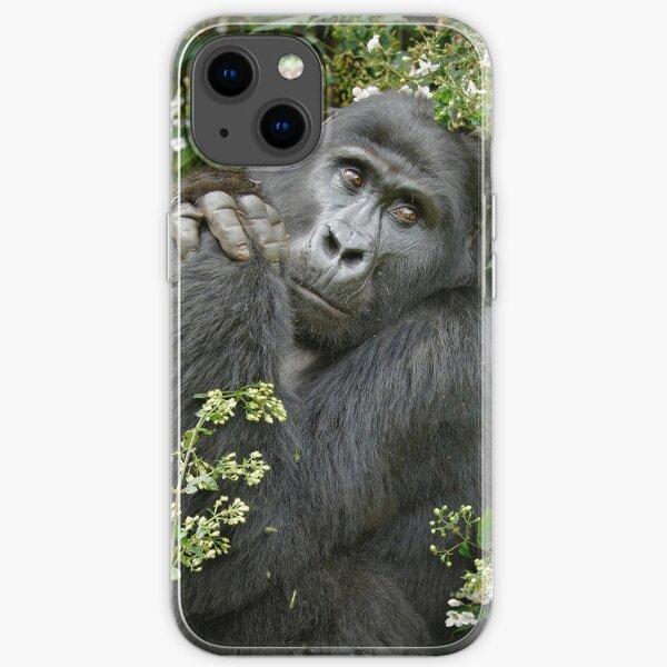 mountain gorilla, Uganda iPhone Flexible Hülle