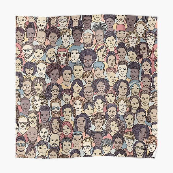 Diverse People Poster