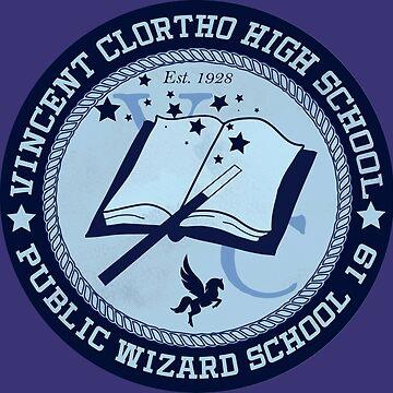 Vincent Clortho High School - Public Wizard School - Key & Peele Inspired by pizzakeicute