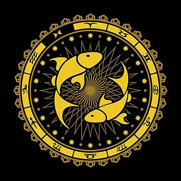 Pisces Zodiac Sign - Horoscope Symbol by mchanfitness