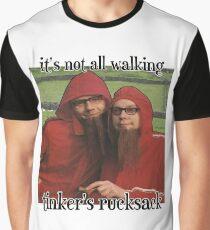 Tinker's Rucksack Walking Graphic T-Shirt
