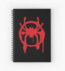 Into the Spider-Verse Spiral Notebook
