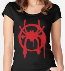 Into the Spider-Verse Women's Fitted Scoop T-Shirt