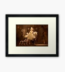 Rococo Ride Framed Print