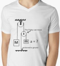 #Science, #physics, #education, #scientific, #school, #symbol, #energy, #background, #illustration, #study, #power, #chemistry, #lab, #experiment, #technology, #abstract, #gravity, #sign, #white Men's V-Neck T-Shirt