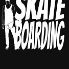 Longboard Skateboard Shirt Gift Passion by Rueb