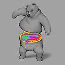 Rainbow Bear by tobiasfonseca