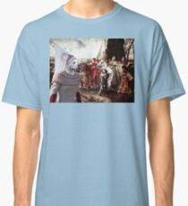American Staffordshire Terrier Art -The reverance to the Queen Classic T-Shirt