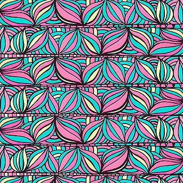 summer organic abstract pattern  by marianabeldi