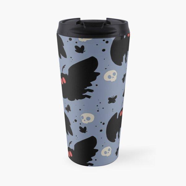 Mothman - Daylight Blue Travel Mug