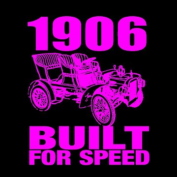 1906 BUILT FOR SPEED PINK by IMPACTEES