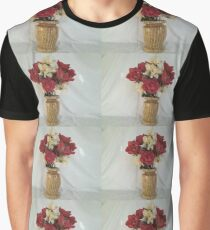 LAMINATED PARTICAL BOARD FLOWER VASE Graphic T-Shirt