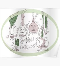 Onions and Friends  Poster