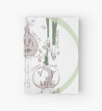 Onions and Friends  Hardcover Journal