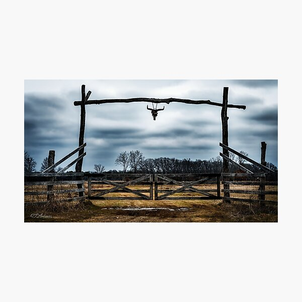 Texas Hill Country Ranch Photographic Print