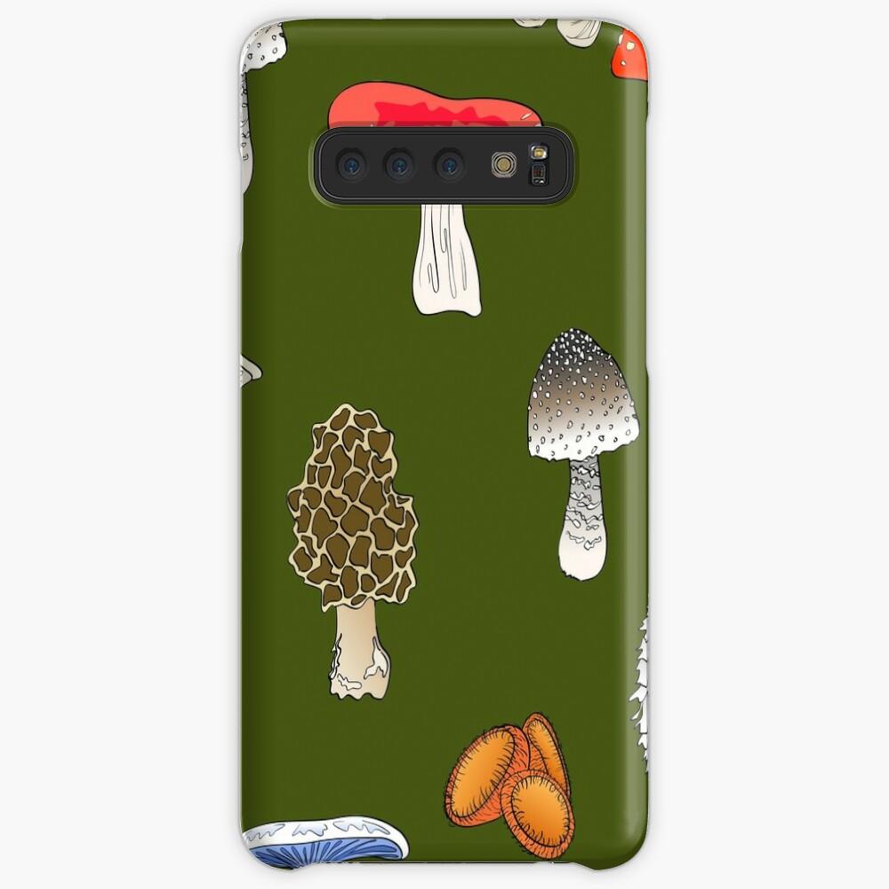 Mushroom Mania Case & Skin for Samsung Galaxy