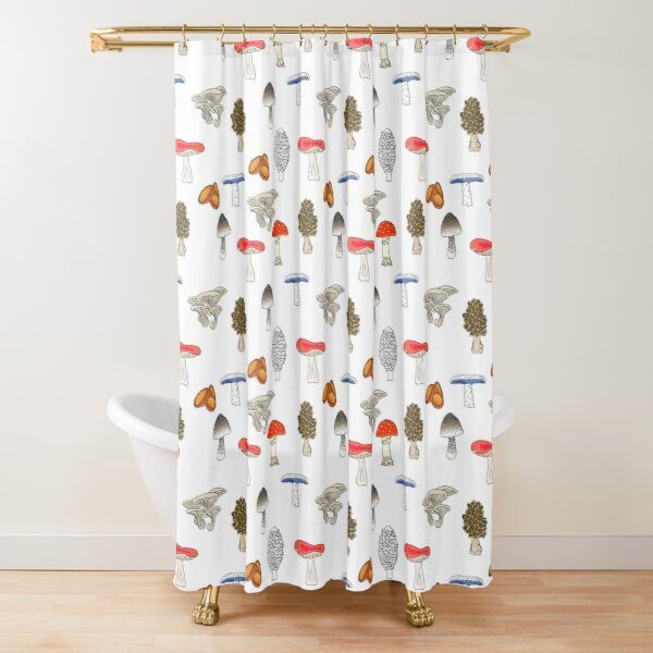 Mushroom Mania Shower Curtain