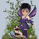 Fairy and Little Kitten by LoneAngel