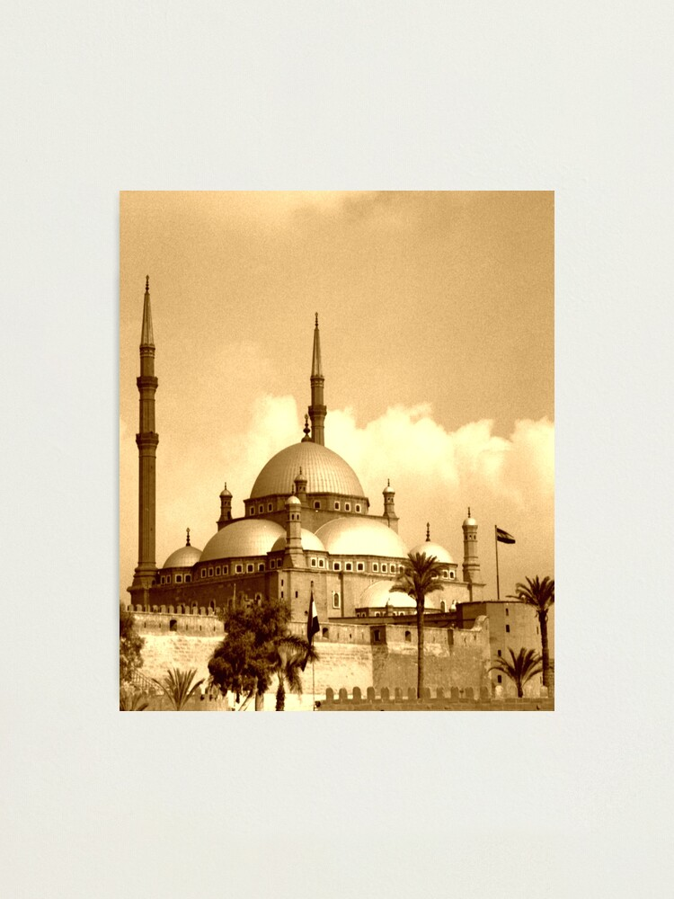 Alternate view of Mosque of Muhammad Ali (Sepia) Photographic Print