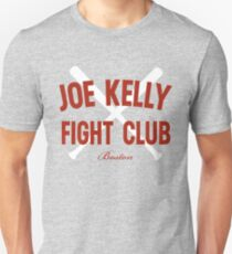 Vintage Distressed Red Tee Joe Kelly Fight Club Shirt for Boston Fans Unisex T-Shirt