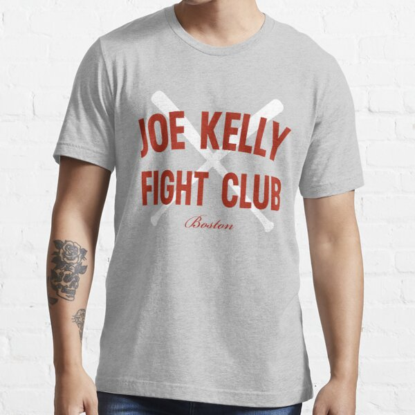 Vintage Distressed Red Tee Joe Kelly Fight Club Shirt for Boston Fans Essential T-Shirt
