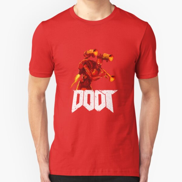 The Doot of Doom Slim Fit T-Shirt