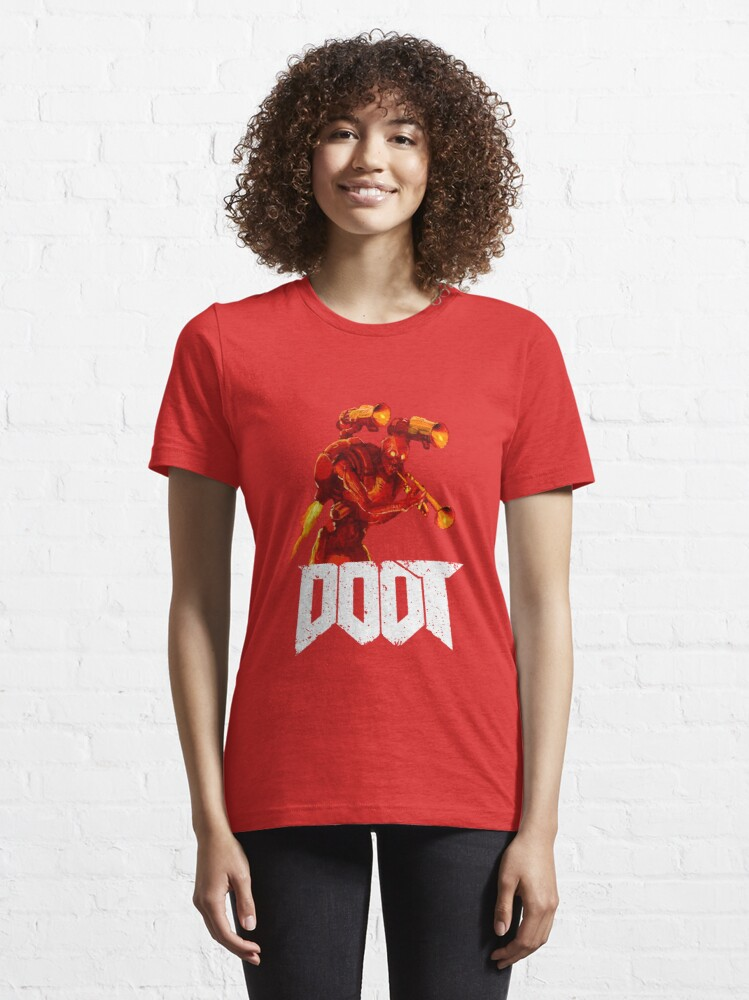 Alternate view of The Doot of Doom Essential T-Shirt