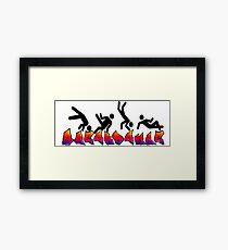 Breakdance Framed Print