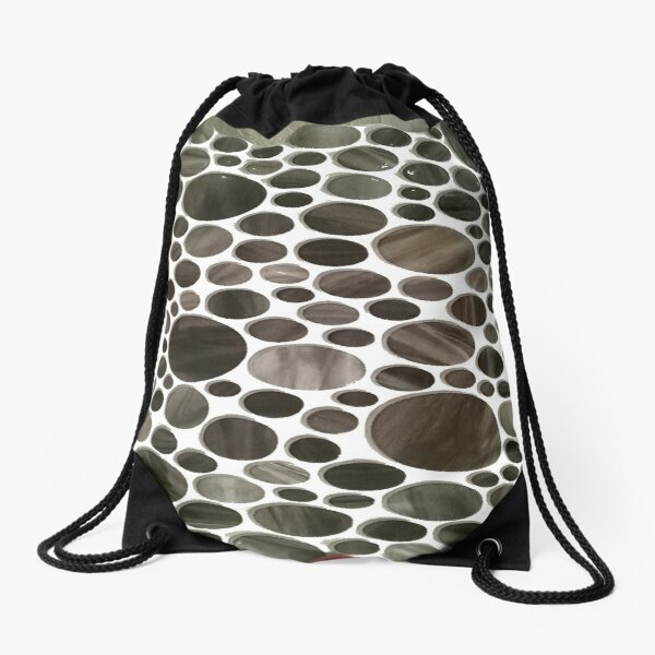 #Pattern #design #abstract #shape #tile #decoration #repetition #art #print #textured #textile #seamlesspattern #backgrounds #retrostyle #nopeople #square #background #abstract #vector #texture Drawstring Bag