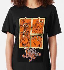 Steel Ball Run Volume 15 Cover Slim Fit T-Shirt